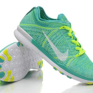 free shipping 9db06 e8649 NEW RELEASE NIKE FREE FLYKNIT 5.0 KNIT VAMP MENS RUNNING SHOES GREEN YELLOW
