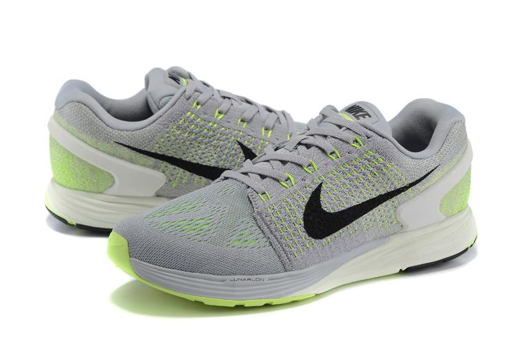 new product aea29 3a7ad NIKE LUNARGLIDE 7 LIGHT GREY LIME - Buy best