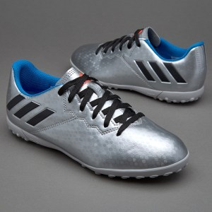 8af473ced39 ADIDAS MESSI 16.1 TF - SILVER METALLIC CORE BLACK SHOCK BLUE - Buy best