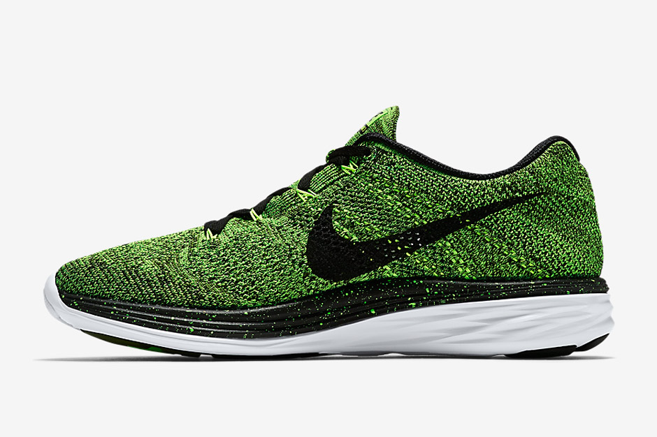 wholesale dealer 7ba2a 29636 NIKE FLYKNIT LUNAR 3-GREEN - Buy best