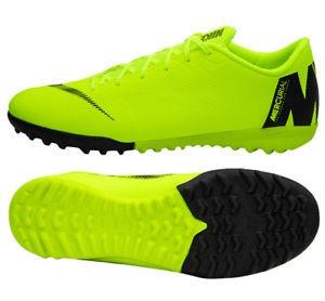 Mercurial Yellow Black Football Shoes