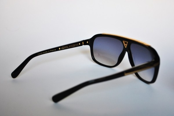 Louis Vuitton Black Evidence Sunglasses Z0350W