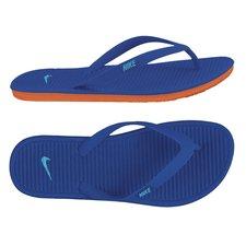 flip flop blue orange