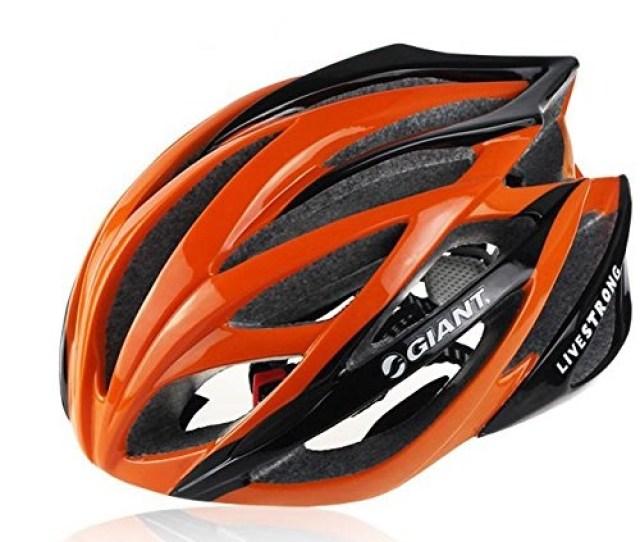 Orange Giant Bicycle Helmets
