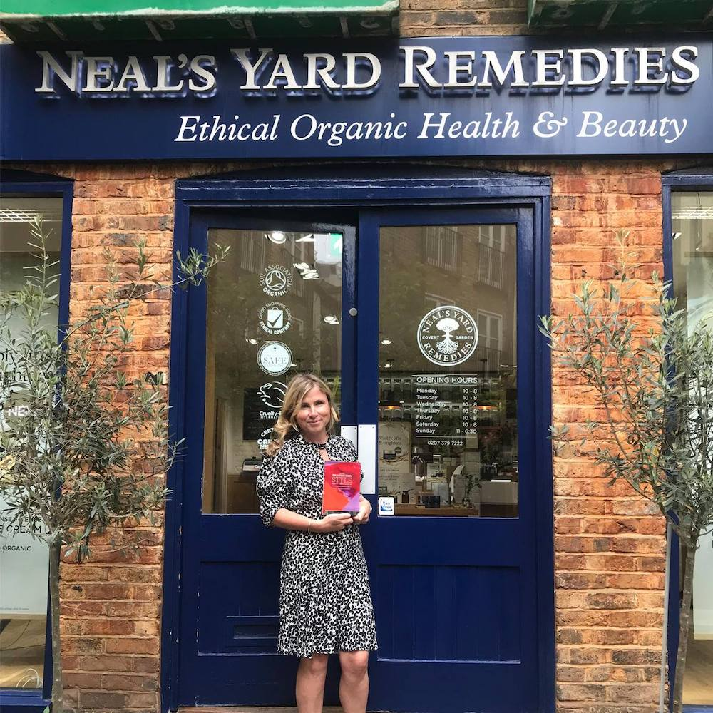 Neal's Yard - Sunday Times Style 'Best Eco-friendly Brand' Award 2018