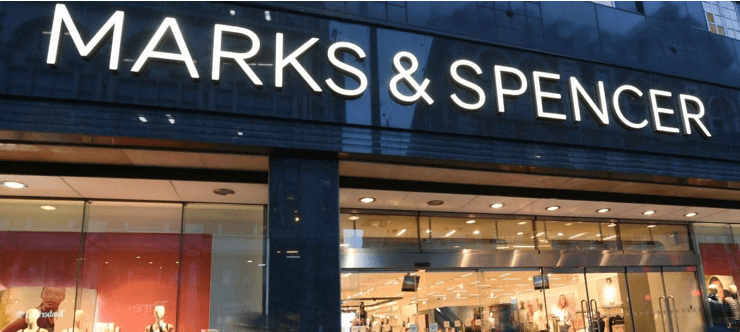 50% Off Marks and Spencer Clothing Banner