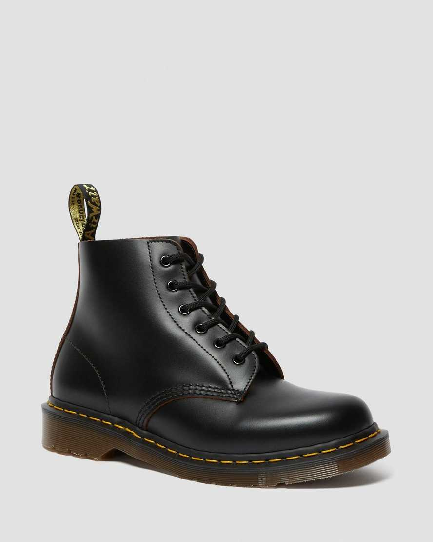 Dr Martens - VINTAGE 101 LEATHER ANKLE BOOTS