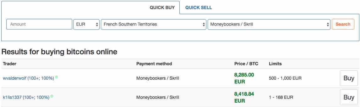 How to Buy Bitcoin with Skrill