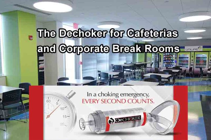 The Dechoker for cafeterias and corp break rooms
