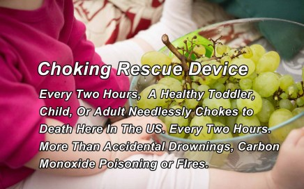 Anti Choking Device for Children and Toddlers