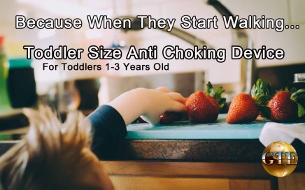 Toddler Size Anti Choking Device