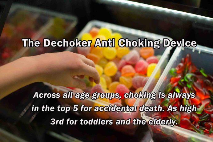 The Dechoker Anti Choking Device