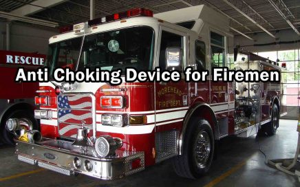 Anti Choking Device for Firemen