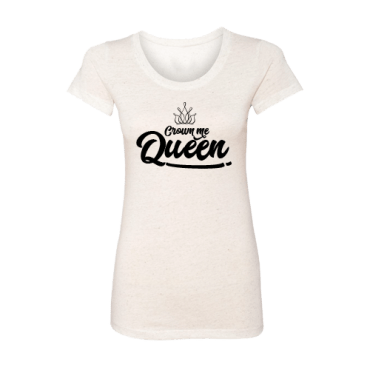 Crown Me Queen tee