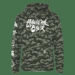 Addicted To Black Patchwork hoodie Kings