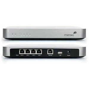Refurbished Or Used Cisco Meraki MX60 Cloud Managed Firewall Security@R1100- ElmMac Media