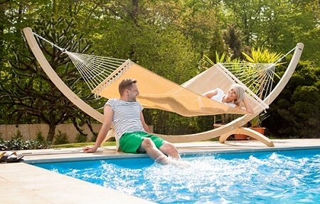 Ideas to hang hammock supports