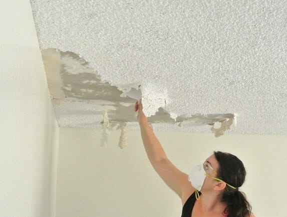 What Are The Requirements To Remove An Asbestos Popcorn Ceiling Buyers Ask