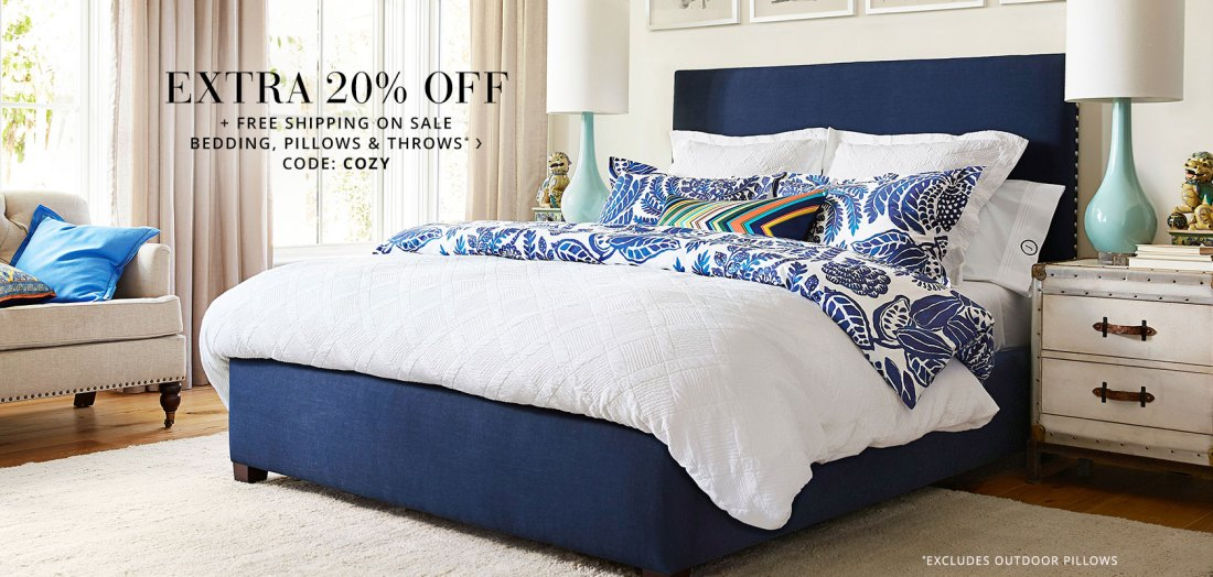 Shop Pottery Barn Bedding