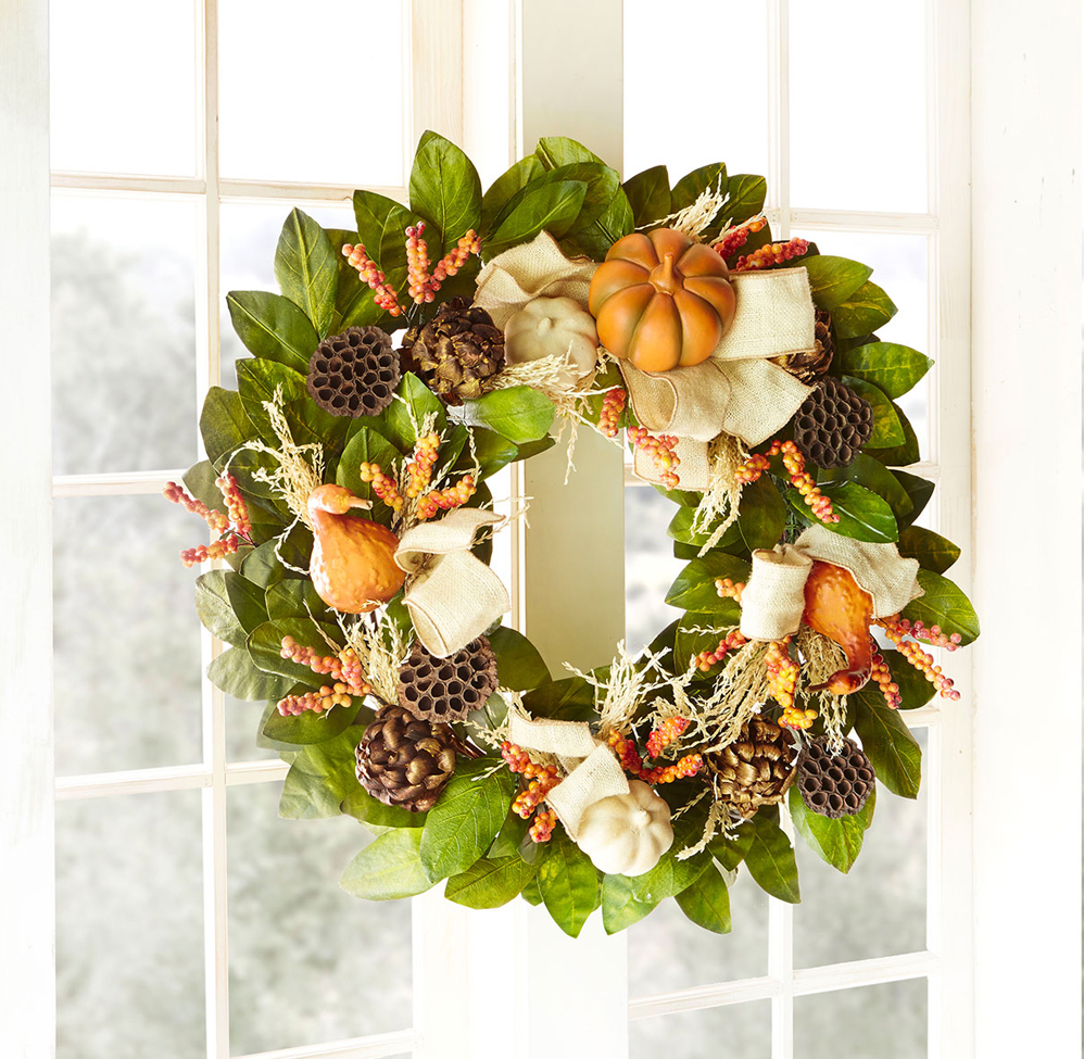 Harvest Wreath Autumn Decor