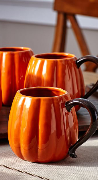 Pumpkin Mug Set