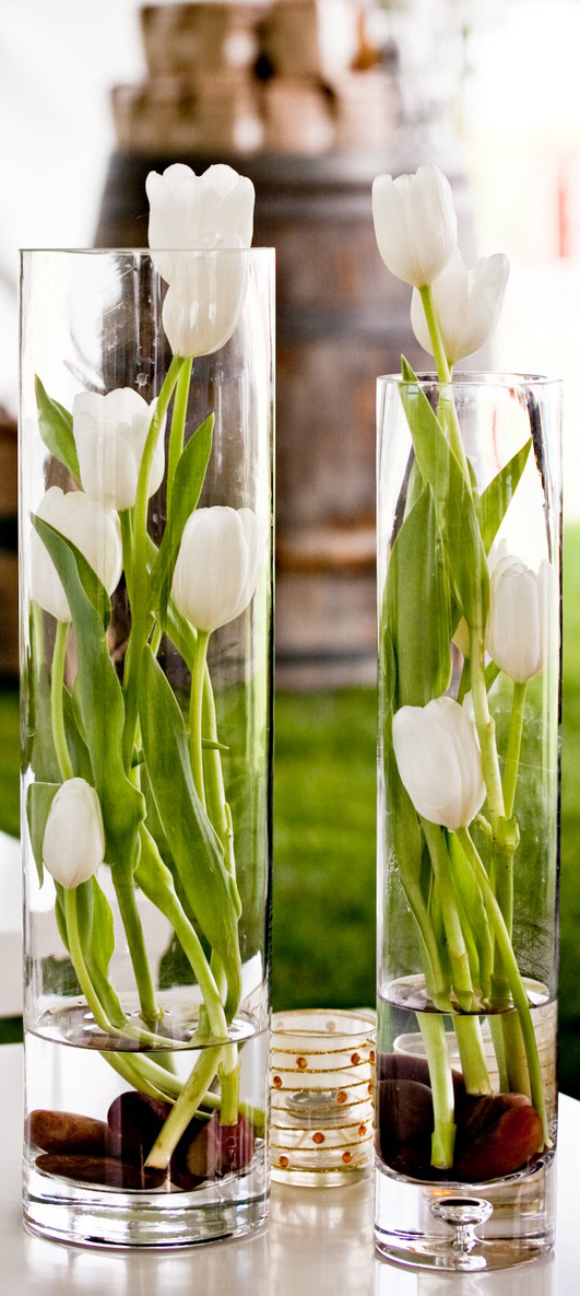 Decorating with Tulips