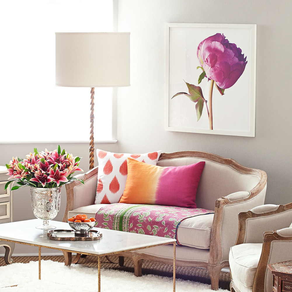 Spring decorating ideas spring home decor design ideas for Home furnishing designs