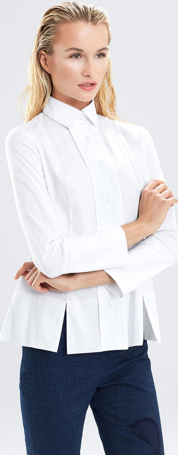 Josie Natori Cotton Shirt