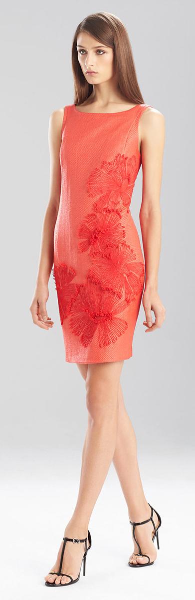 Josie Natori Raffia Dress