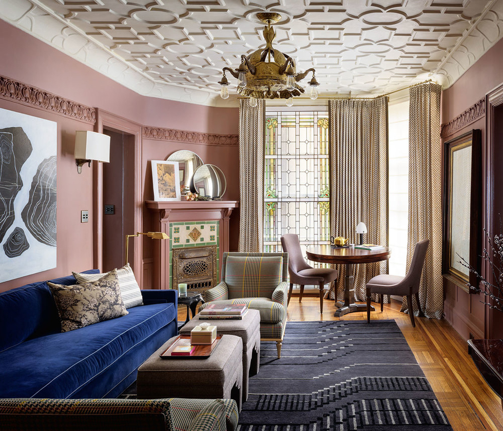Ian Stallings San Francisco Home | Mauve Walls