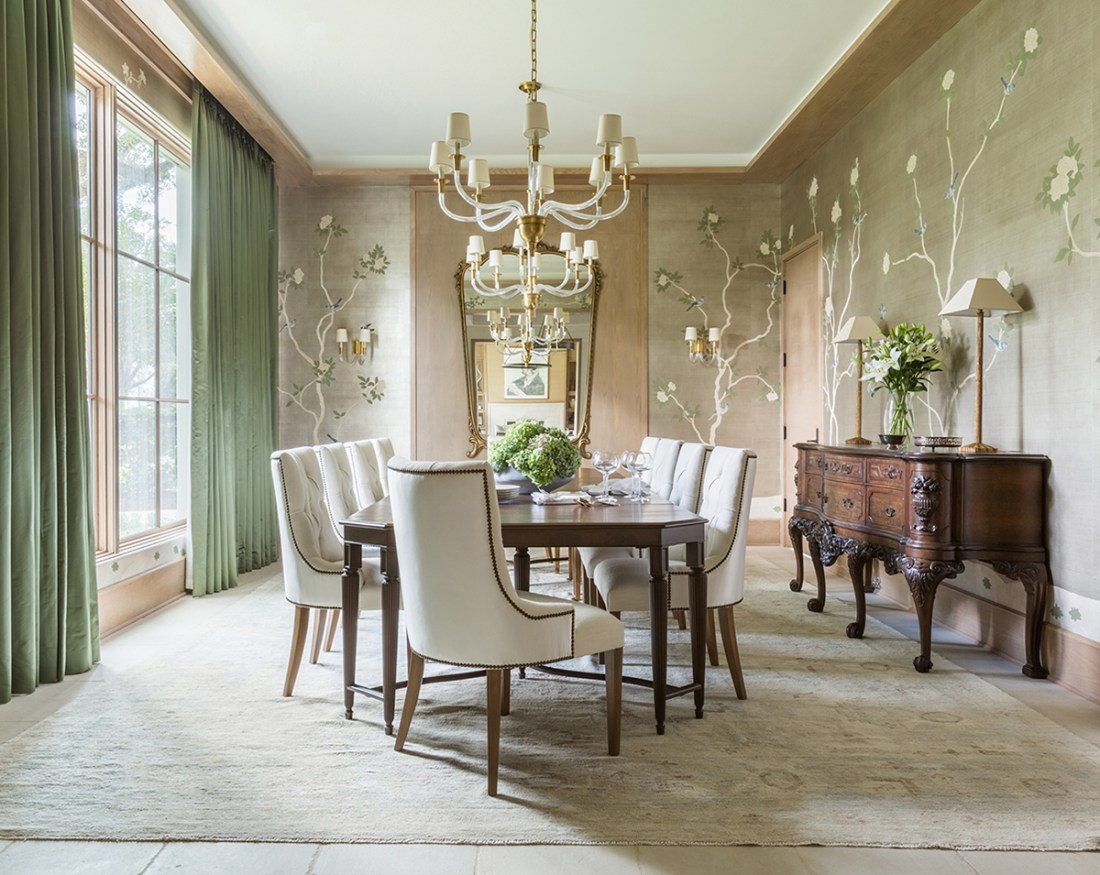 Dining room ideas gallery of stunning dining room pictures for Traditional interior design blogs
