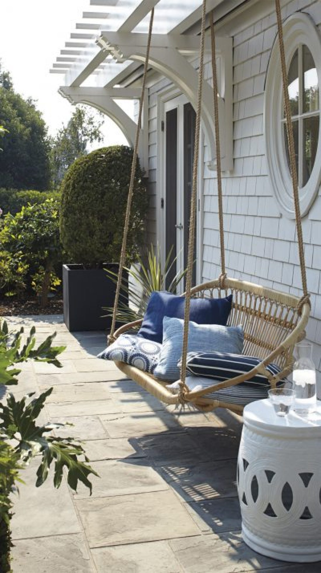 Outdoor Ideas 21 Hanging Bench