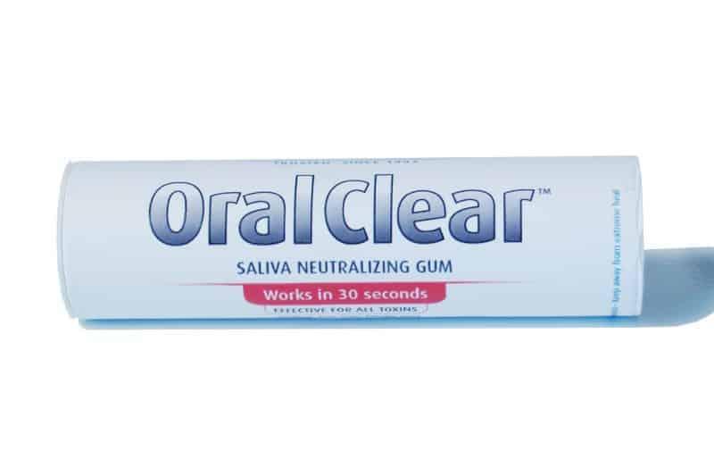 clear choice saliva gum