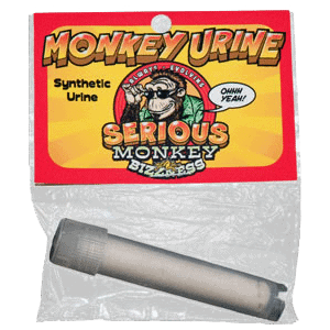 Image of a product - Monkey Urine a synthetic product for novelty and urine tests.