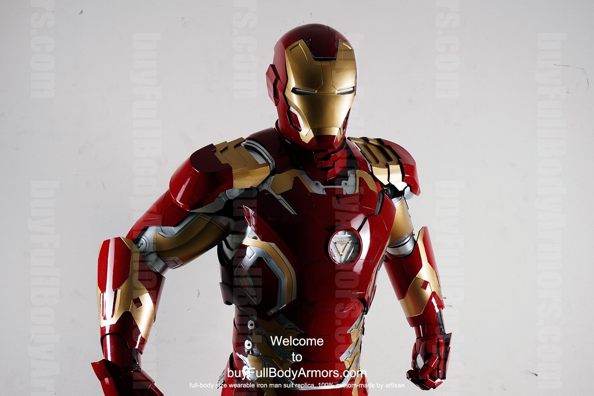 Buy Iron Man Costume Suit