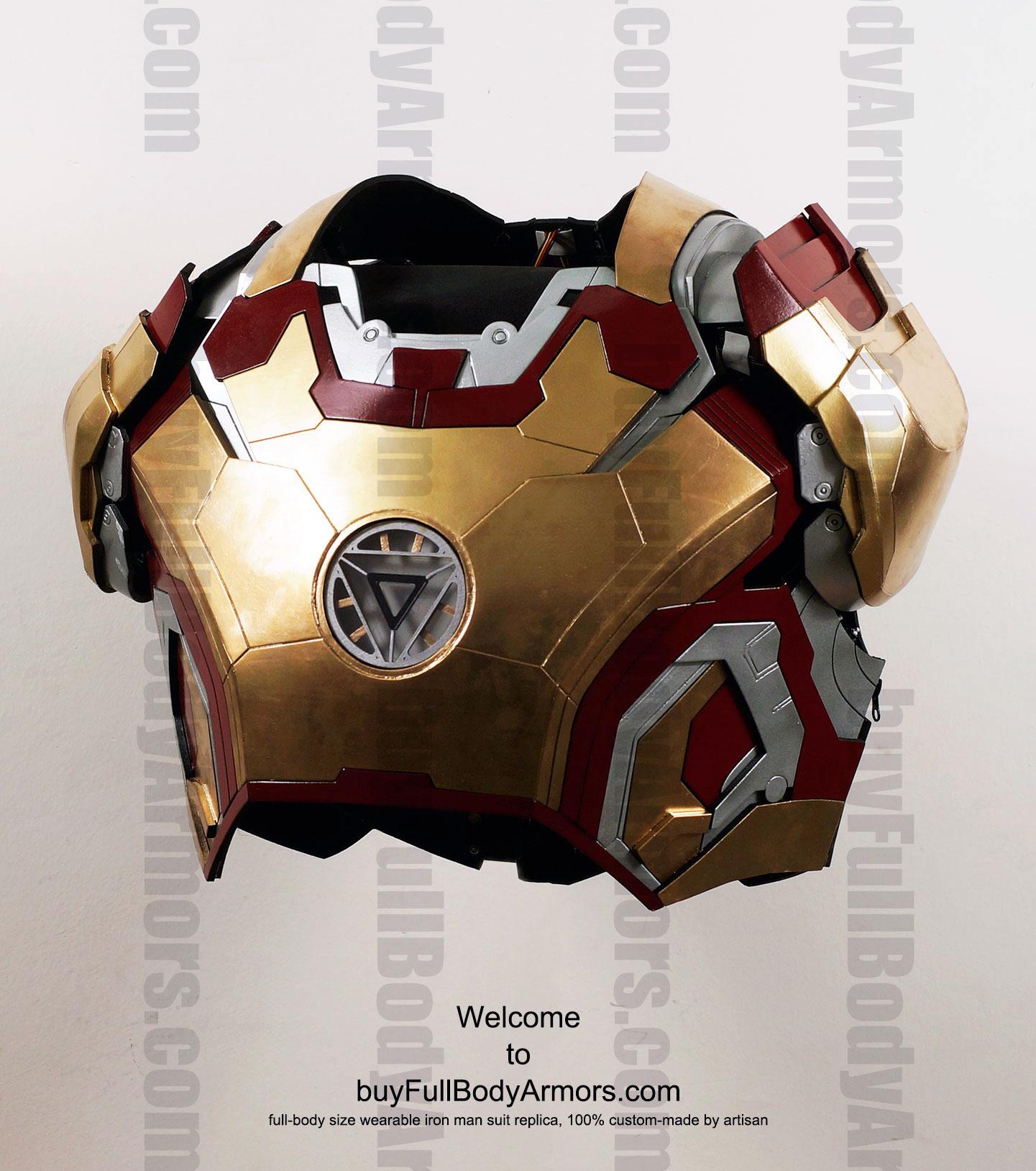 Iron Man Chest Template