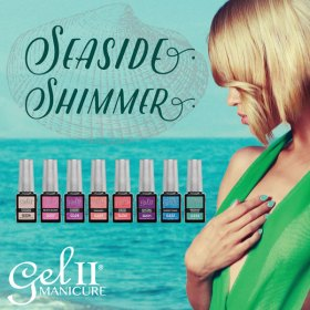 Gel II Seaside Shimmer Collection