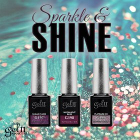 Gel II Sparkle & Shine Collection
