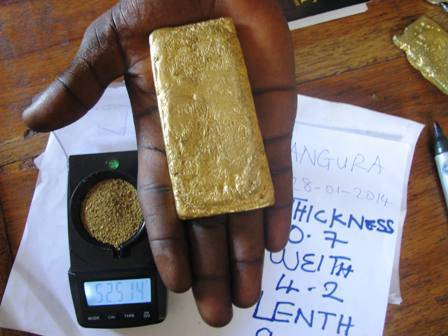 Buy gold bars Africa
