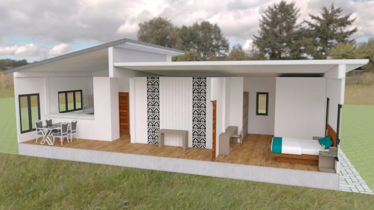 House Plans 13x9 5m Full Plan 3beds Samphoas Com