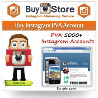 Buy Instagram PVA Account