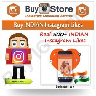Buy INDIAN Instagram Likes