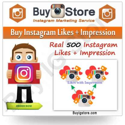 Instagram Likes + Impression