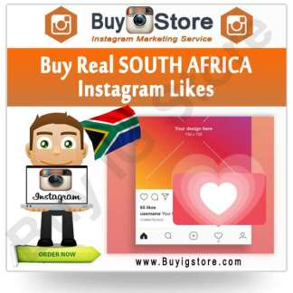 Buy SOUTH AFRICA Instagram Likes