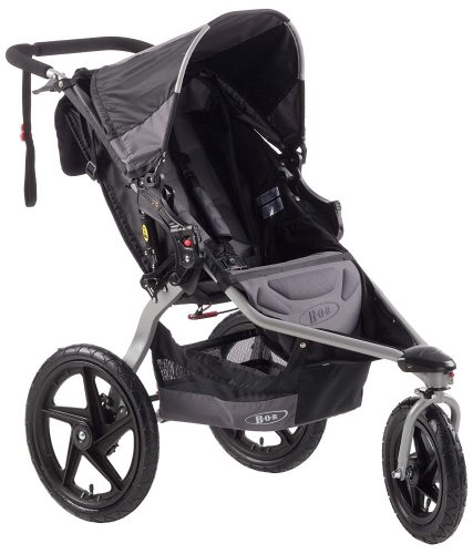 BOB Revolution SE Single Stroller, Black - Jogging Strollers