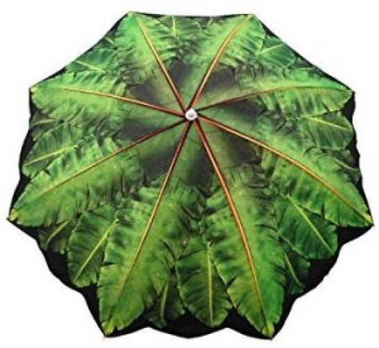 6.5′ Banana Leaf Umbrella_15 best beach umbrella