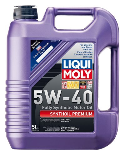 2041 Liqui Moly Premium 5W-40 -synthetic motor oils