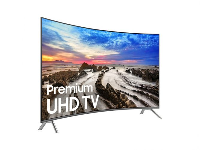 Samsung MU8500 Curved Ultra HD Smart TV