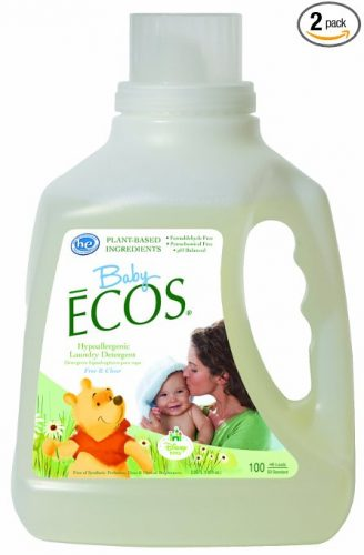 Earth Friendly Ecos Disney Baby Detergent -baby detergents