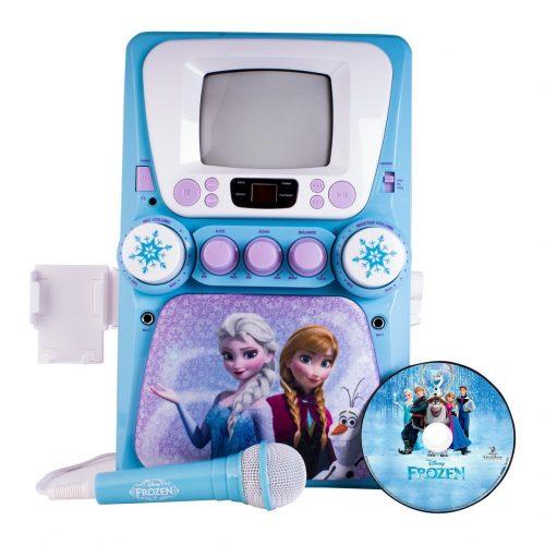 The Frozen Deluxe Karaoke Machine - Kid Karaoke Machines
